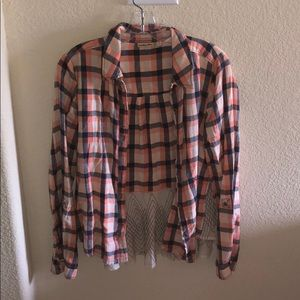 Anthropology flannel